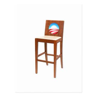 Obama Empty Chair Postcard