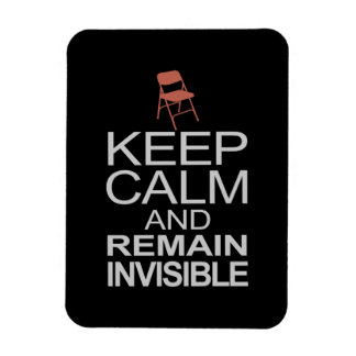 Obama Empty Chair - Remain Invisible Rectangular Photo Magnet