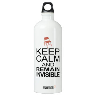 Obama Empty Chair - Remain Invisible SIGG Traveler 1.0L Water Bottle