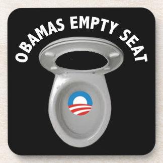 Obama Empty Chair - Toilet Seat Beverage Coaster