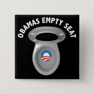 Obama Empty Chair - Toilet Seat Button