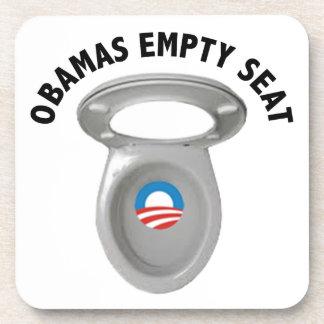 Obama Empty Chair - Toilet Seat Coaster