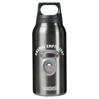 Obama Empty Chair - Toilet Seat Insulated Water Bottle