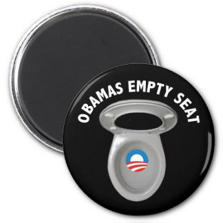 Obama Empty Chair - Toilet Seat Magnet