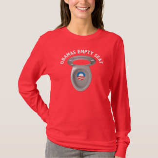 Obama Empty Chair - Toilet Seat T-Shirt