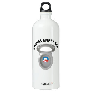 Obama Empty Chair - Toilet Seat Water Bottle