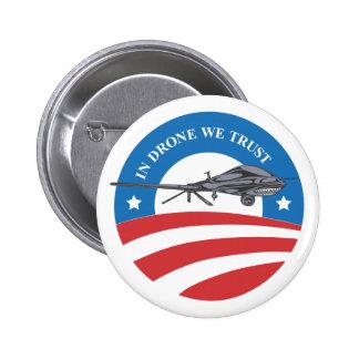 obama en abejón nosotros botón de la Confianza-vic Pin Redondo De 2 Pulgadas
