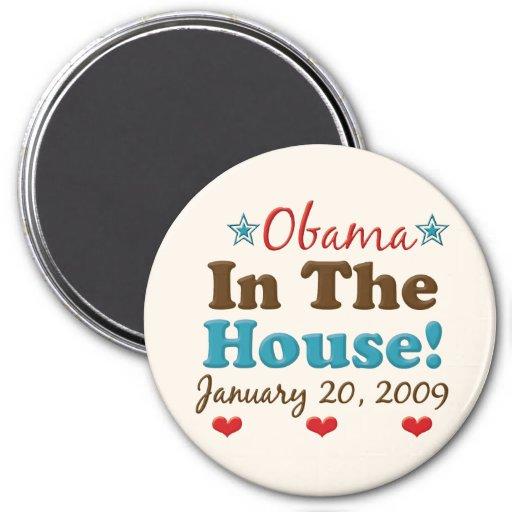 Obama en el imán de la casa