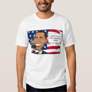 Obama en el teléfono playera