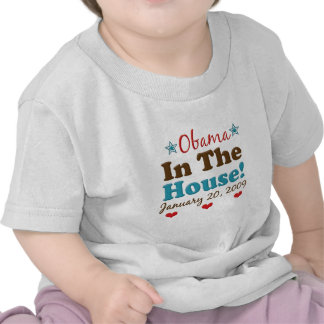 Obama en la camiseta del niño de la casa