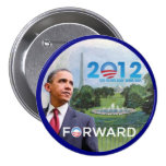 Obama en Washington 2012 Pin Redondo De 3 Pulgadas