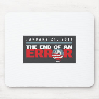 Obama End of an ERROR Mouse Pad