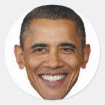 ¿Obama, enfermo de mí todavía? Pegatina Redonda