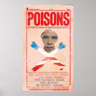 Obama envenena 1001 asesinos mortales de América Impresiones