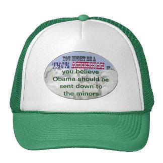 obama envió a los menores gorra