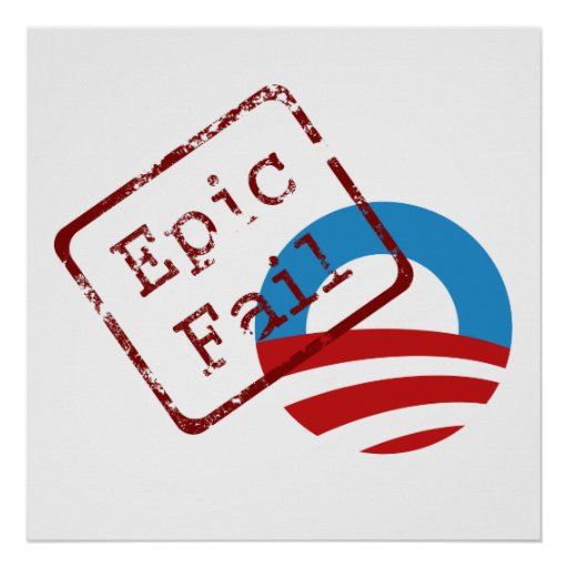Obama Epic Fail Poster