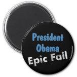 Obama epic fail refrigerator magnets