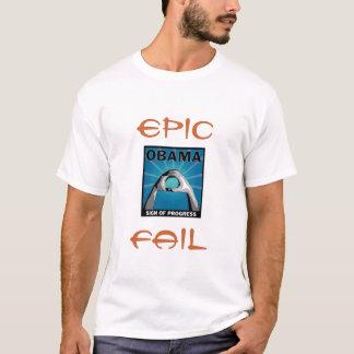 Obama - Epic Fail stylish tee