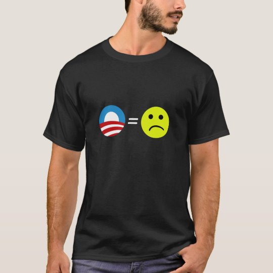 Obama Equals Frowns T-Shirt