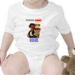 ¡Obama - equipo incorrecto! Bebé T Traje De Bebé