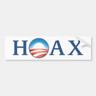 Obama es BROMA Pegatina De Parachoque