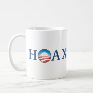 Obama es BROMA Tazas De Café