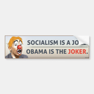 Obama es el comodín pegatina de parachoque