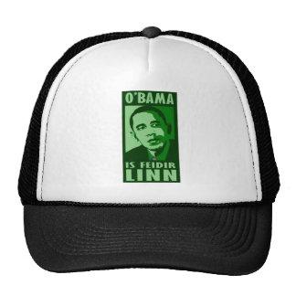 obama es feidir lin gorra