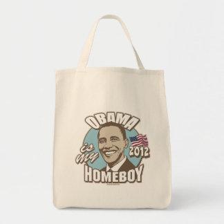 Obama es mi engranaje del Homeboy 2012 Bolsa