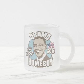 Obama es mi engranaje del Homeboy 2012 Tazas De Café