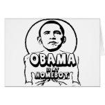 Obama es mi homeboy tarjetón