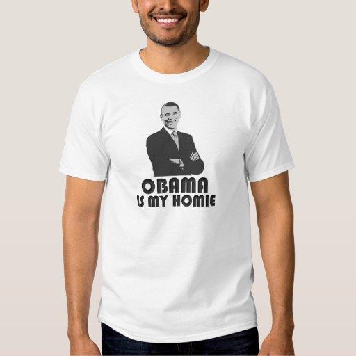 Obama es mi Homie Playera