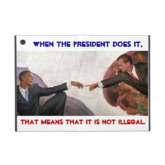 Obama es Nixon iPad Mini Fundas