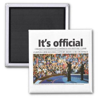 Obama: Es oficial Iman