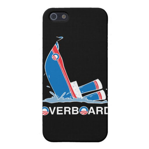 OBAMA ES OVERBOARD.png iPhone 5 Carcasa