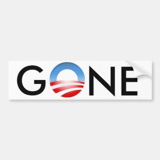Obama es pegatina para el parachoques ida pegatina para auto