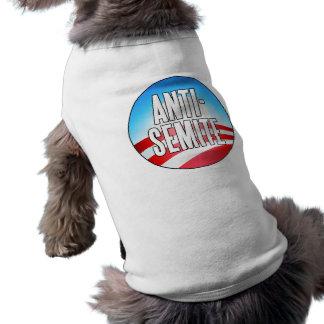 Obama es un antisemita camiseta de mascota