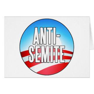 Obama es un antisemita felicitacion
