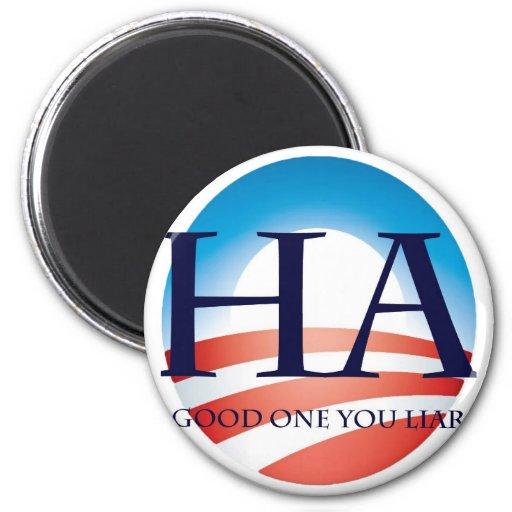 ¡Obama es un mentiroso! Imanes De Nevera