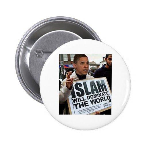 Obama es un musulmán pins