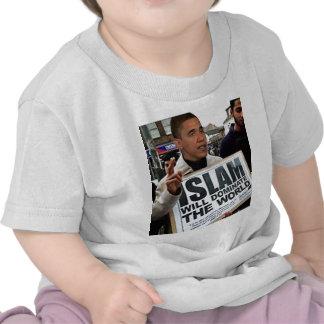 Obama es un musulmán camisetas