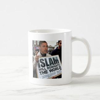 Obama es un musulmán taza
