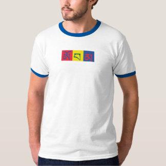 Obama escrito en la camiseta tibetana 8 de la