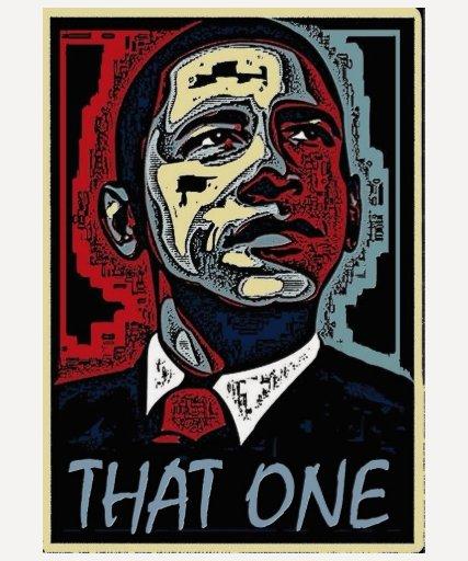 Obama esos un 5 camiseta
