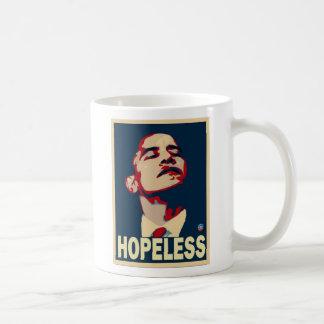 Obama está desesperado taza de café