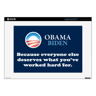 "OBAMA EVERYONE ELSE 15"" LAPTOP DECALS"