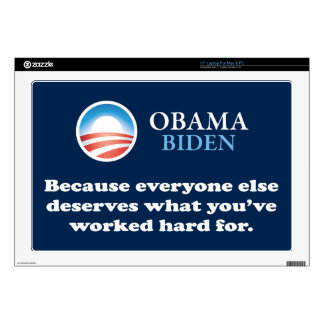 OBAMA EVERYONE ELSE LAPTOP DECAL