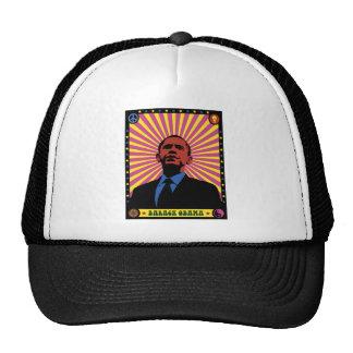 Obama experimentó gorras