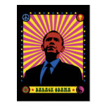 Obama experimentó postal