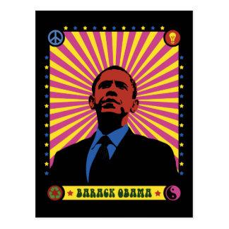 Obama experimentó tarjetas postales